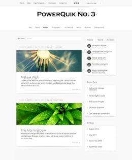 PowerQuik Theme No. 3